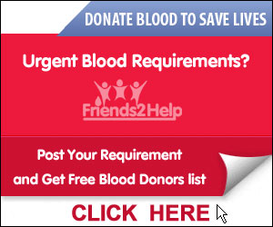 Free Blood Donors Hyderabad, warangal